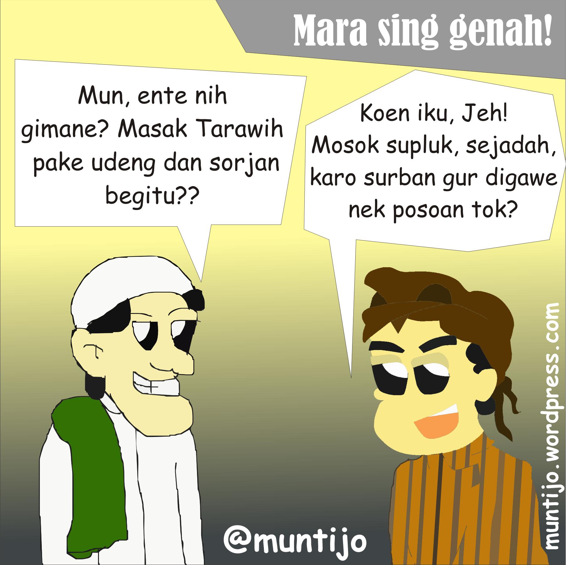Kartun Ramadan Jember An Ala IPNU Berbubastra